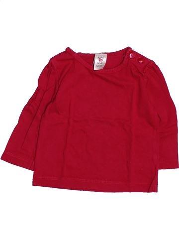 Camiseta de manga larga niña C&A rojo 3 meses invierno #1494829_1