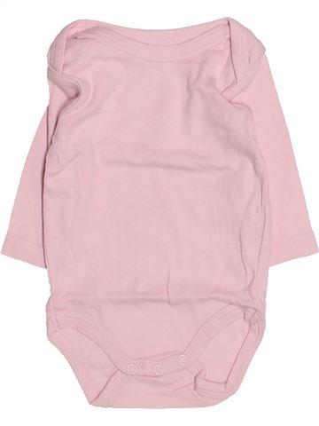 T-shirt manches longues fille KIABI violet 3 mois hiver #1494850_1