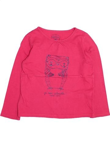 T-shirt manches longues fille SERGENT MAJOR rose 5 ans hiver #1494908_1