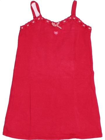 T-shirt sans manches fille LILI GAUFRETTE rouge 5 ans été #1494970_1