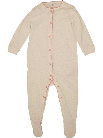 Pyjama 1 pièce fille NEXT beige 18 mois été #1494993_1