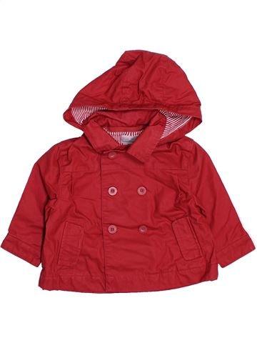 Anorak niño CYRILLUS rojo 3 meses verano #1494997_1