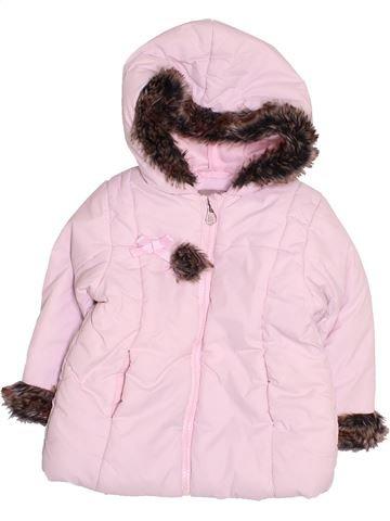 Plumífero niña GRAIN DE BLÉ rosa 12 meses invierno #1495010_1