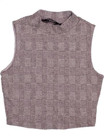 Camiseta sin mangas niña NEW LOOK gris 11 años verano #1495237_1