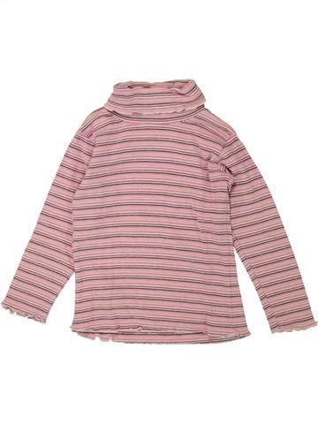 Camiseta de cuello alto niña C&A rosa 4 años invierno #1495426_1