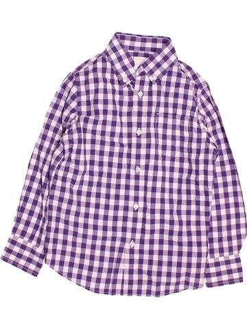 Chemise manches longues garçon CREWCUTS violet 7 ans hiver #1495436_1