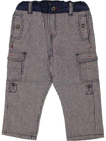 Pantalon garçon OKAIDI violet 12 mois été #1495497_1
