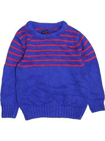 Pull garçon NEXT bleu 4 ans hiver #1495544_1