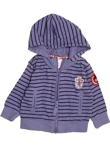 Sudadera niño JASPER CONRAN violeta 3 meses invierno #1495595_1