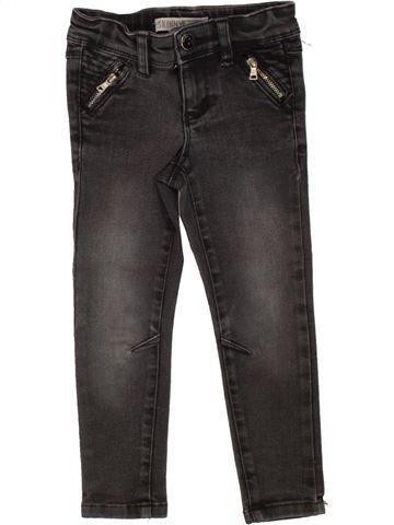 Pantalon fille OKAIDI noir 3 ans hiver #1495645_1