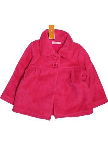 Abrigo niña BLUEZOO rosa 2 años invierno #1496004_1