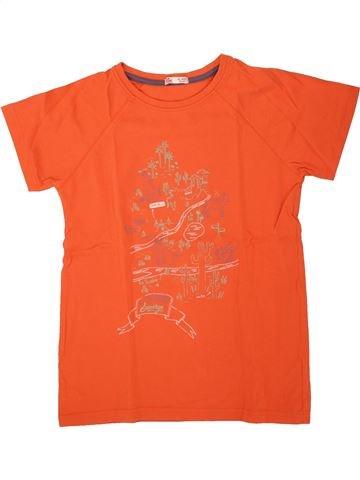 T-shirt manches courtes garçon DPAM orange 12 ans été #1496189_1