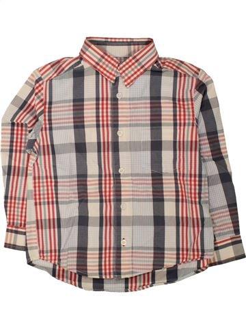 Camisa de manga larga niño CYRILLUS beige 4 años invierno #1496224_1