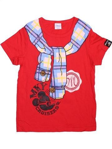 Camiseta de manga corta niño DISNEY rosa 10 años verano #1496265_1