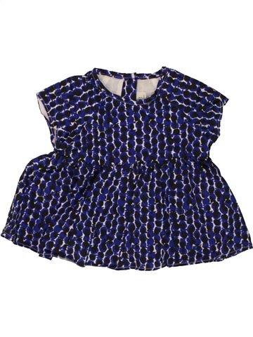 Blusa de manga corta niña JEAN BOURGET azul 9 meses verano #1496353_1