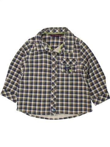 Chemise manches longues garçon SERGENT MAJOR gris 12 mois hiver #1496484_1