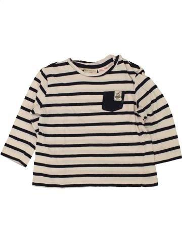Camiseta de manga larga niño ZARA azul 6 meses invierno #1496567_1
