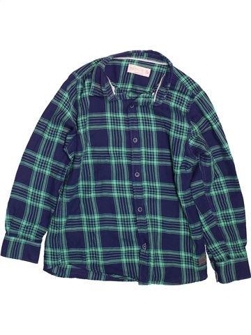 Camisa de manga larga niño ZARA azul 8 años invierno #1496670_1