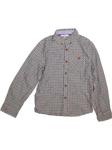 Camisa de manga larga niño JOHN LEWIS gris 9 años invierno #1496832_1