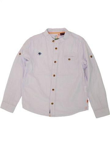 Chemise manches longues garçon SERGENT MAJOR blanc 7 ans hiver #1496843_1