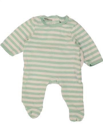 Pyjama 1 pièce garçon VERTBAUDET gris naissance été #1496967_1