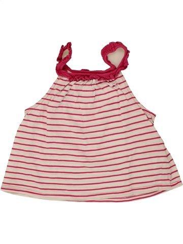 Camiseta sin mangas niña OKAIDI violeta 6 años verano #1497003_1