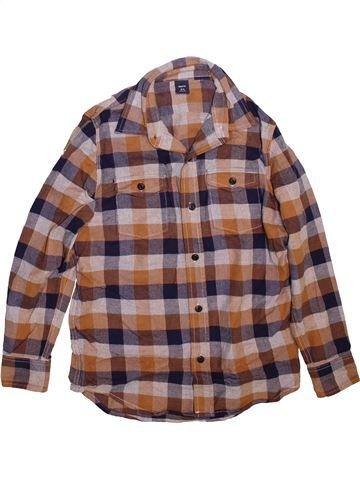 Chemise manches longues garçon GAP marron 11 ans hiver #1497071_1