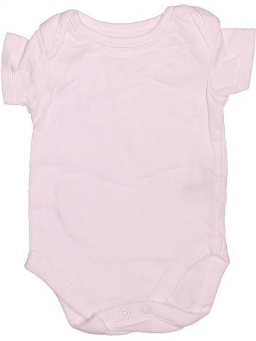 Camiseta de manga corta unisex NUTMEG rosa 3 meses verano #1497147_1