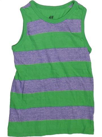 Top - Camiseta de tirantes niño H&M verde 4 años verano #1497150_1
