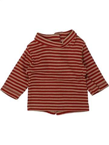 Camiseta de cuello alto niño KIABI marrón 1 mes invierno #1497312_1