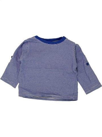Camiseta de manga larga niño GEMO gris 3 meses invierno #1497360_1