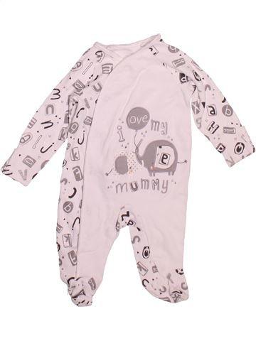 Pijama de 1 pieza niño TU blanco 1 mes verano #1497413_1