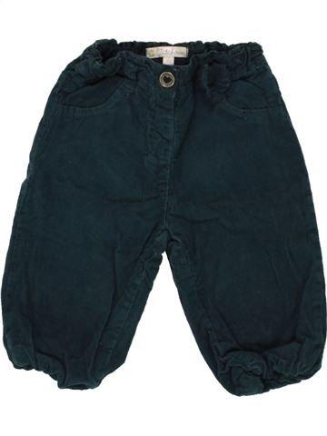 Pantalon fille KIABI bleu foncé 9 mois hiver #1497429_1