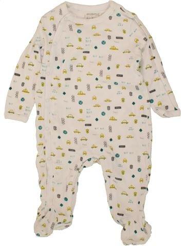 Pijama de 1 pieza niño ORCHESTRA azul 6 meses verano #1497454_1