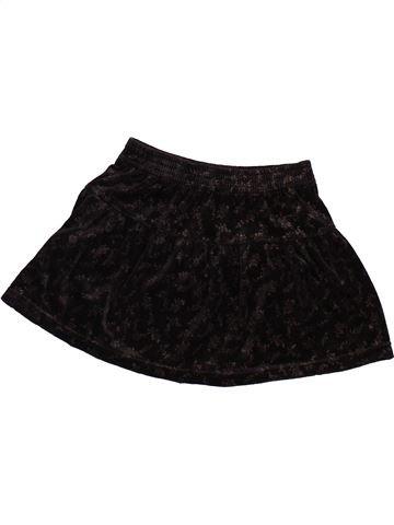 Falda niña ALPHABET negro 4 años invierno #1497469_1