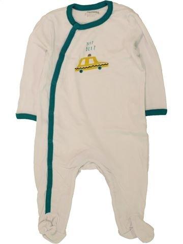 Pijama de 1 pieza niño ORCHESTRA azul 6 meses verano #1497492_1