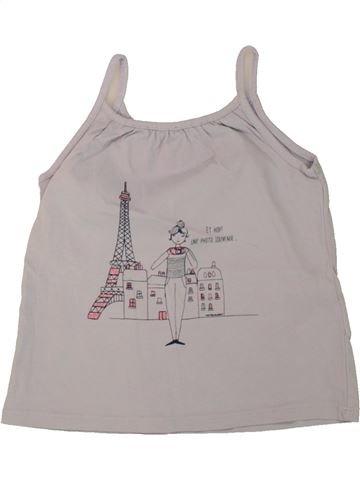 T-shirt sans manches fille VERTBAUDET gris 4 ans été #1497511_1