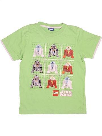 T-shirt manches courtes garçon TU vert 11 ans été #1497641_1