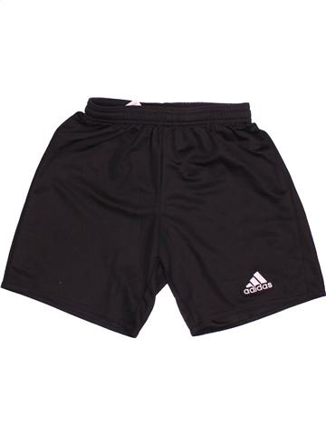 Pantalon corto deportivos niño ADIDAS negro 10 años verano #1497643_1