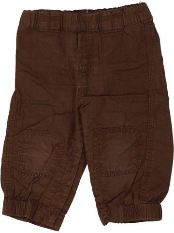 Pantalón niño LA REDOUTE CRÉATION marrón 12 meses verano #1497806_1
