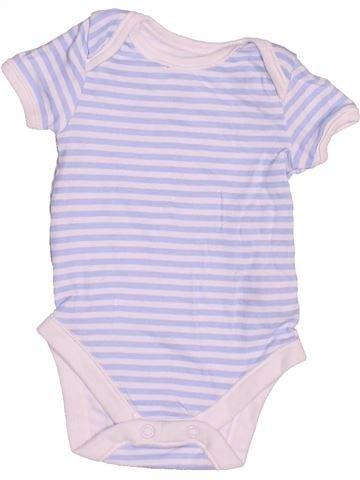 T-shirt manches courtes garçon GEORGE gris 3 mois été #1497902_1