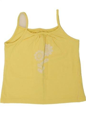 T-shirt sans manches fille VERTBAUDET jaune 3 ans été #1497937_1