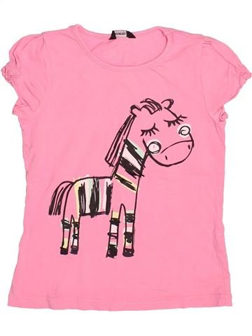 Camiseta de manga corta niña GEORGE rosa 5 años verano #1497962_1