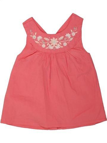 Blusa de manga corta niña VERTBAUDET rosa 2 años verano #1497977_1