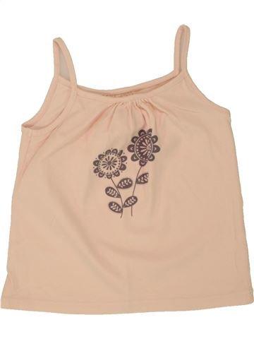 T-shirt sans manches fille VERTBAUDET rose 3 ans été #1497998_1