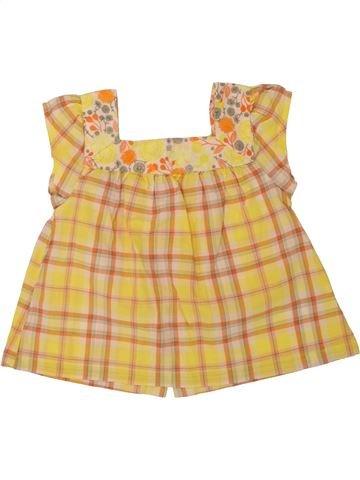 Blusa de manga corta niña VERTBAUDET naranja 2 años verano #1498000_1