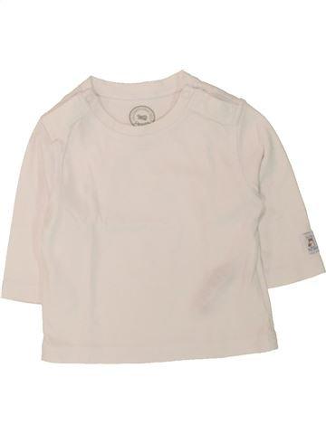 T-shirt manches longues garçon LA COMPAGNIE DES PETITS bleu 3 mois hiver #1498092_1