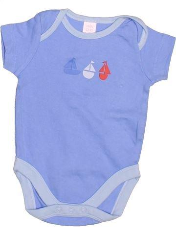 T-shirt manches courtes garçon MINI CLUB bleu 3 mois été #1498095_1