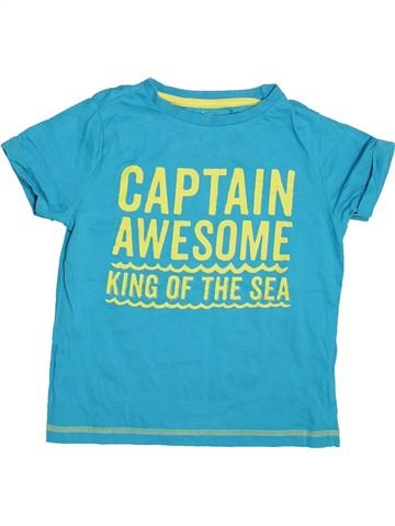 Camiseta de manga corta niño F&F azul 7 años verano #1498145_1