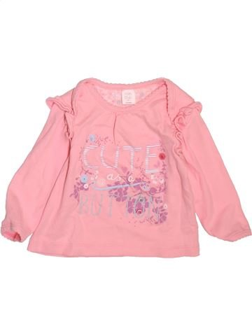 Camiseta de manga larga niña MINI CLUB rosa 9 meses invierno #1498387_1